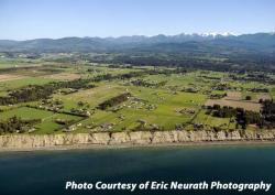 Olympic Peninsula Farmland Aerial Photography by Eric Neurath
